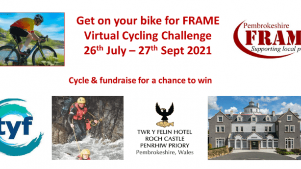 Get on your bike for frame